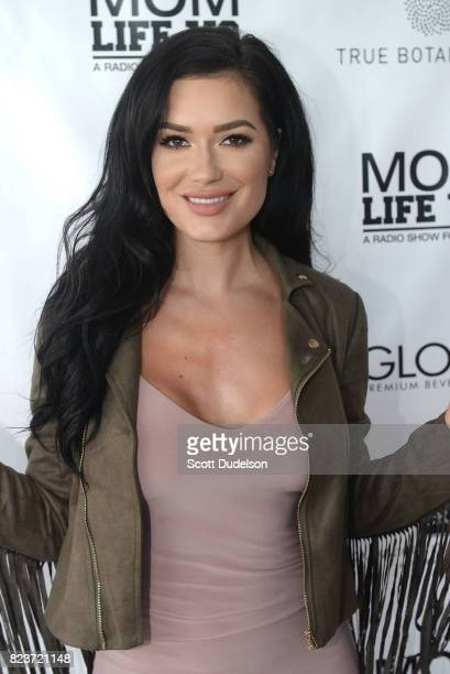 Model CJ Sparxx attends the 'Celebrity Evening of Wellness' at Calamigos Beach Club on July 27 2017 in Malibu California