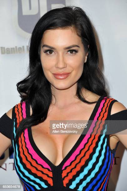 Model CJ Sparxx attends the premiere of Skinfly Entertainment's You Can't Have It at TCL Chinese Theatre on March 15 2017 in Hollywood California