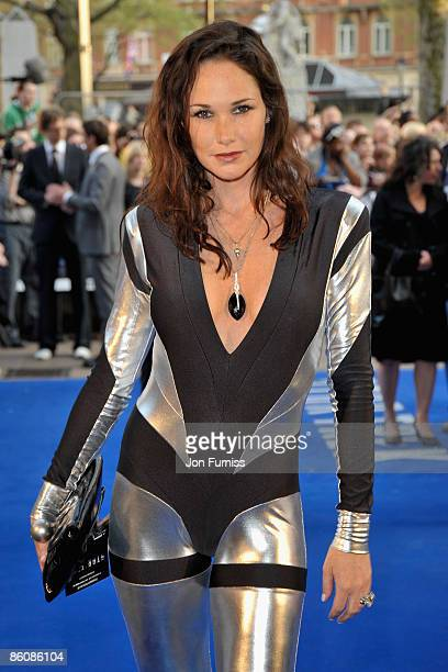 Model Claire Merry attends the 'Star Trek' film premiere at the Empire Leicester Square on April 20 2009 in London England