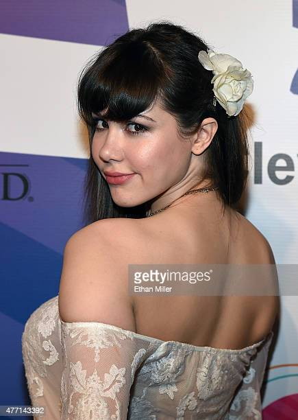 Model Claire Sinclair attends the 19th annual Keep Memory Alive Power of Love Gala benefit for the Cleveland Clinic Lou Ruvo Center for Brain Health...