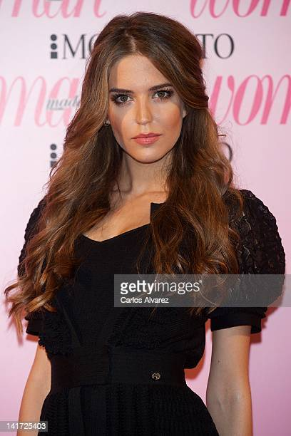 Model Clara Alonso attends Woman Magazine Awards 2012 at French Embassy on March 22 2012 in Madrid Spain