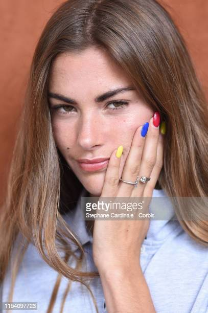 Model Clara Berry attends the 2019 French Tennis Open Day Twelve at Roland Garros on June 06 2019 in Paris France