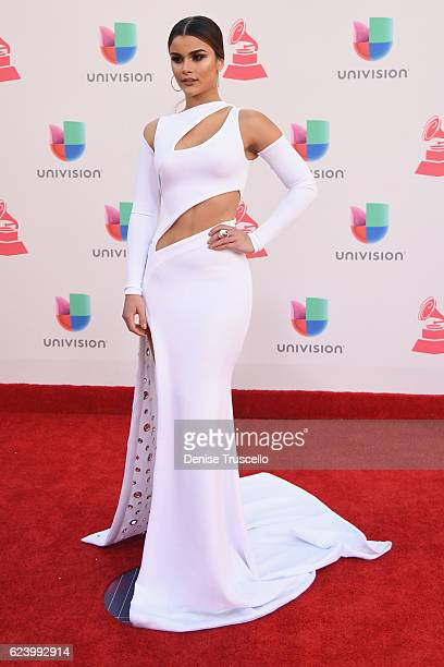 Model Clarissa Molina attends The 17th Annual Latin Grammy Awards at TMobile Arena on November 17 2016 in Las Vegas Nevada