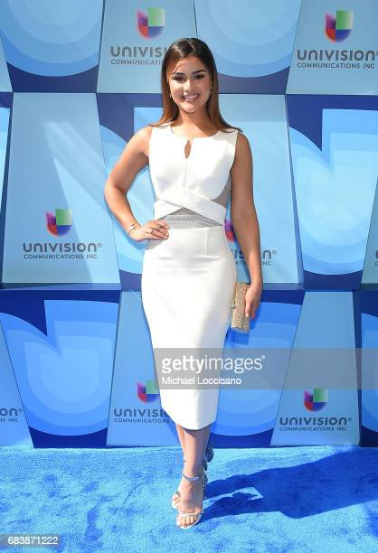 Model Clarissa Molina attends the 2017 Univision Upfront at the Lyric Theatre on May 16 2017 in New York City