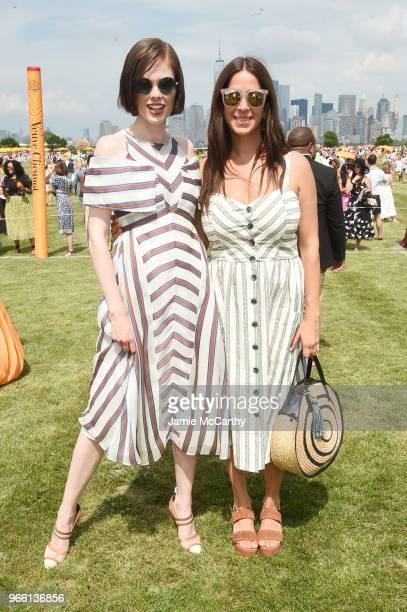 Model Coco Rocha and designer Rebecca Minkoff attend the 11th annual Veuve Clicquot Polo Classic at Liberty State Park on June 2 2018 in Jersey City...