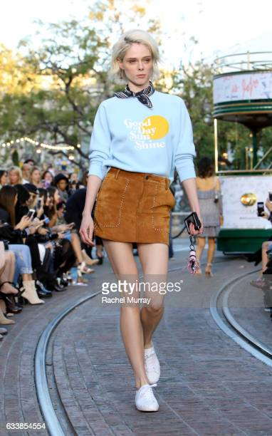 "Model Coco Rocha attended designer Rebecca Minkoff's Spring 2017 ""See Now Buy Now"" Fashion Show at The Grove on February 4 2017 in Los Angeles..."