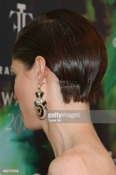Model Coco Rocha attends 2014 Fragrance Foundation awards at Alice Tully Hall Lincoln Center on June 16 2014 in New York City