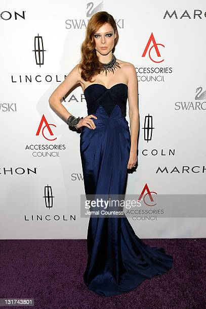 Model Coco Rocha attends Accessories Council 15th Annual ACE Awards at Cipriani 42nd Street on November 7 2011 in New York City
