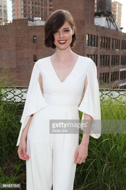 Model Coco Rocha attends as Saks And American Express Platinum celebrate the Shop Saks With Platinum benefit launch with a summer soiree at The NoMad...