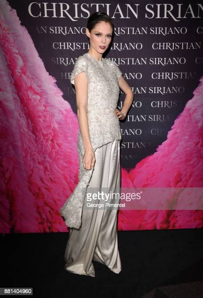 Model Coco Rocha attends Christian Siriano Canadian Book Launch held at Bisha Hotel Residences on November 28 2017 in Toronto Canada