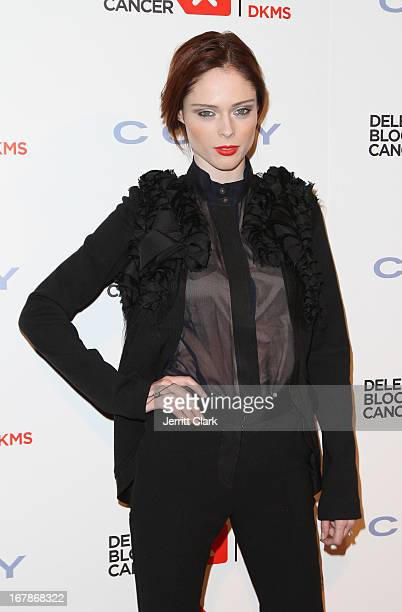 Model Coco Rocha attends the 2013 Delete Blood Cancer Gala at Cipriani Wall Street on May 1 2013 in New York City