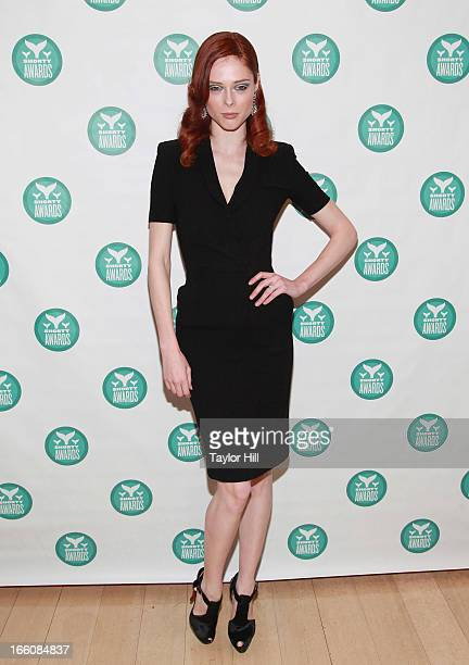 Model Coco Rocha attends the 2013 Shorty Awards at Times Center on April 8 2013 in New York City