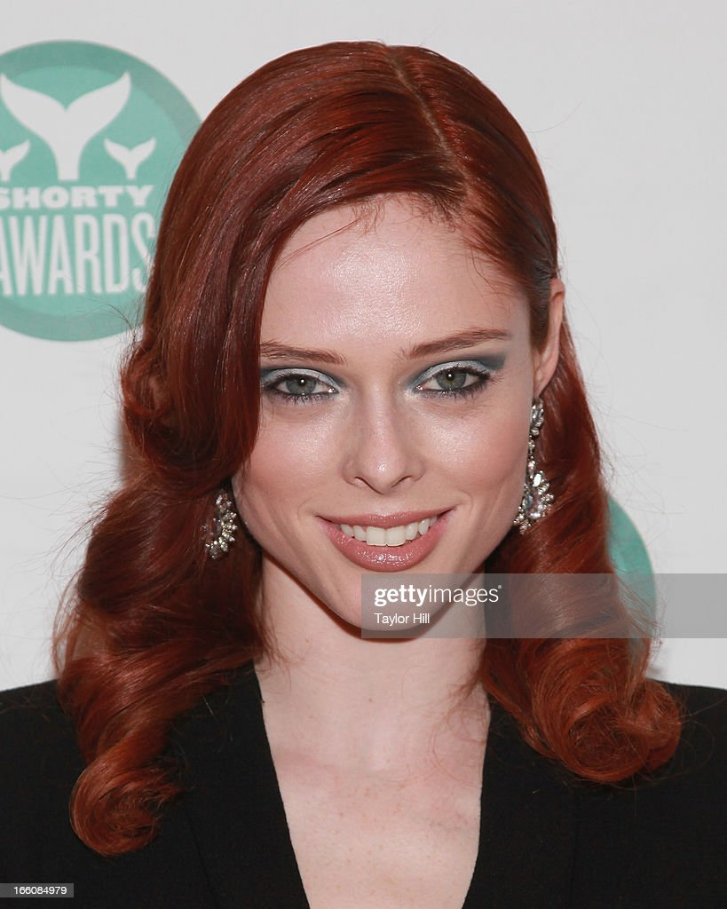 Model Coco Rocha attends the 2013 Shorty Awards at Times Center on April 8, 2013 in New York City.