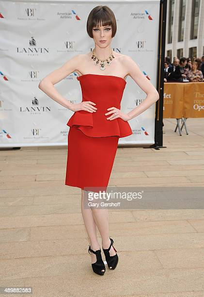 Model Coco Rocha attends the American Ballet Theatre 2014 Opening Night Spring Gala at The Metropolitan Opera House on May 12 2014 in New York City