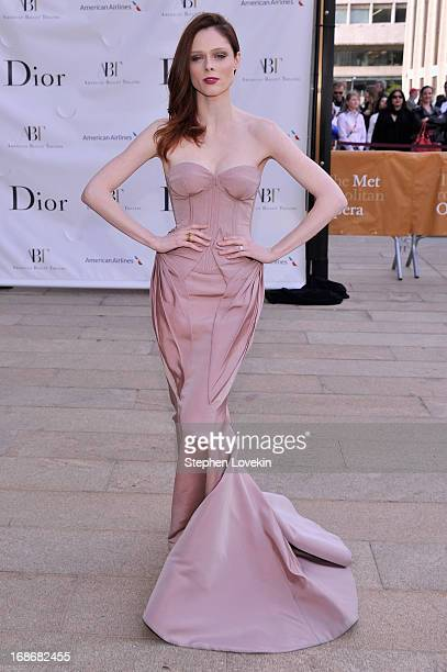 Model Coco Rocha attends the American Ballet Theatre opening night Spring Gala at Lincoln Center on May 13 2013 in New York City