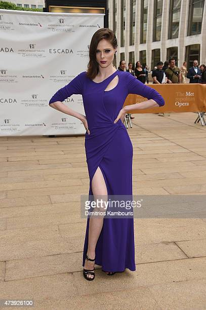 Model Coco Rocha attends the American Ballet Theatre's 75th Anniversary Diamond Jubilee Spring Gala at The Metropolitan Opera House on May 18, 2015...