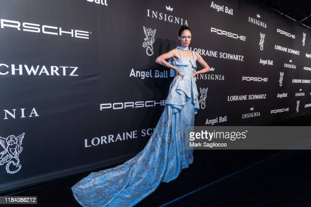 Model Coco Rocha attends the Angel Ball 2019 at Cipriani Wall Street on October 28 2019 in New York City