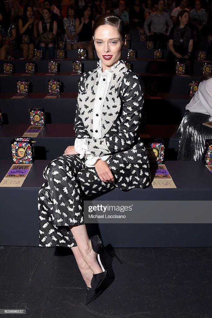 NY: Anna Sui - Front Row - September 2016 - New York Fashion Week: The Shows