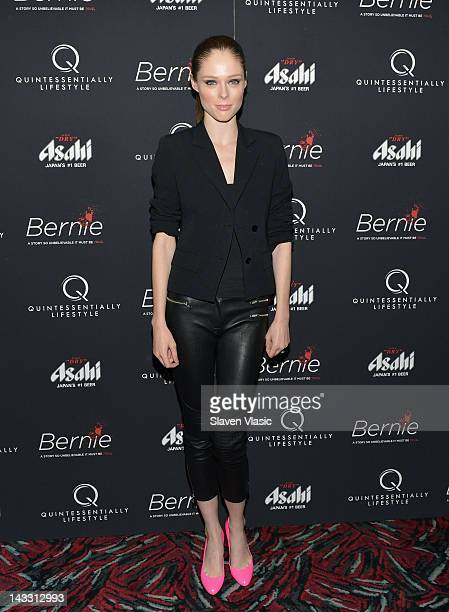 Model Coco Rocha attends the Bernie New York Premiere at AMC Loews 19th Street East 6 theater on April 23 2012 in New York City