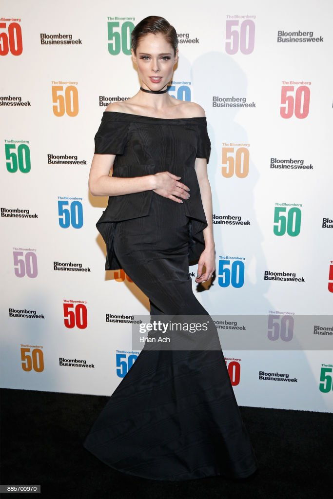 Model Coco Rocha attends 'The Bloomberg 50' Celebration at Gotham Hall on December 4, 2017 in New York City.