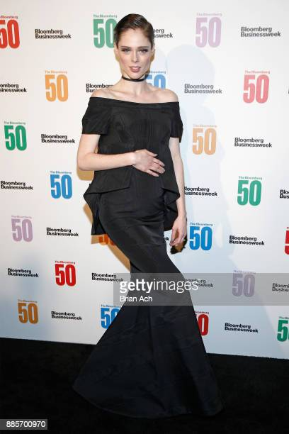 Model Coco Rocha attends The Bloomberg 50 Celebration at Gotham Hall on December 4 2017 in New York City
