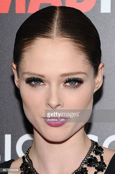 Model Coco Rocha attends the 'Mad Men' New York special screening at The Museum of Modern Art on March 22 2015 in New York City