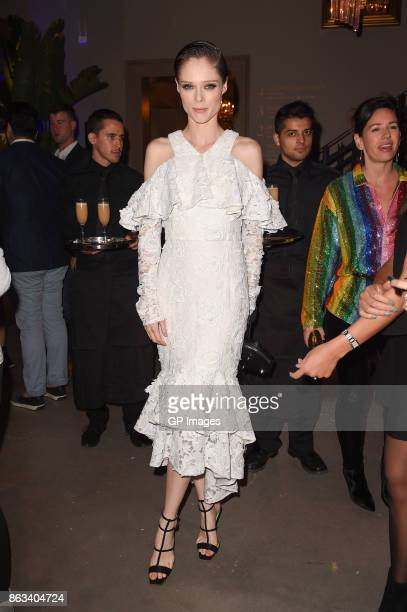 Model Coco Rocha attends the opening celebration of RH Restoration Hardware The Unveiling Of RH Toronto The Gallery At Yorkdale Shopping Center on...