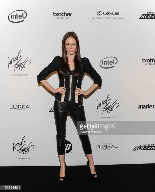 c24fbe27002 Model Coco Rocha attends the Project Runway Season 10 Wrap Party hosted by Lord  Taylor and