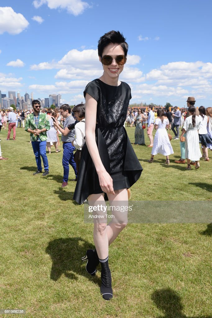 Model Coco Rocha attends The Tenth Annual Veuve Clicquot Polo Classic at Liberty State Park on June 3, 2017 in Jersey City, New Jersey.
