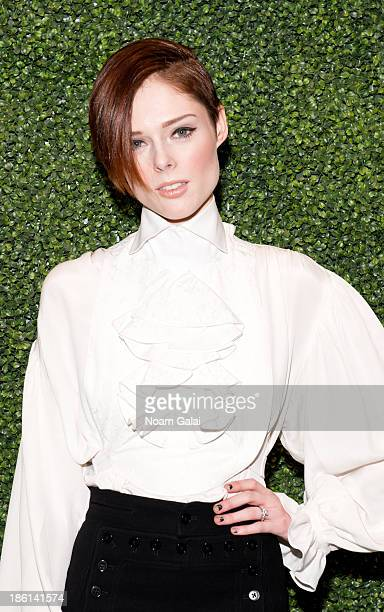 Model Coco Rocha attends the To Catch A Thief RALPH LAUREN screening celebrating the PRINCESS GRACE FOUNDATION at The Museum of Modern Art on October...