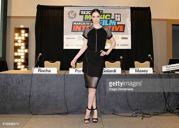 Model Coco Rocha attends 'Why Art Needs Science Fashion and Tech's Future' during the 2016 SXSW Music Film Interactive Festival at Westin Austin...