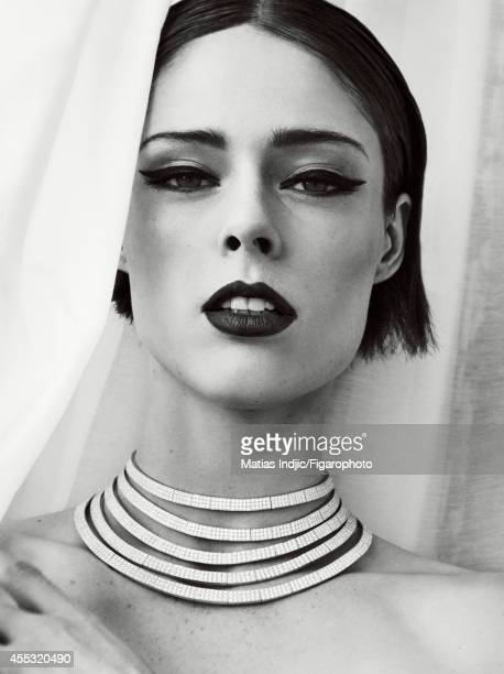 Model Coco Rocha is photographed for Madame Figaro on May 29 2014 in Paris France Necklace Makeup by LOreal Paris PUBLISHED IMAGE CREDIT MUST READ...