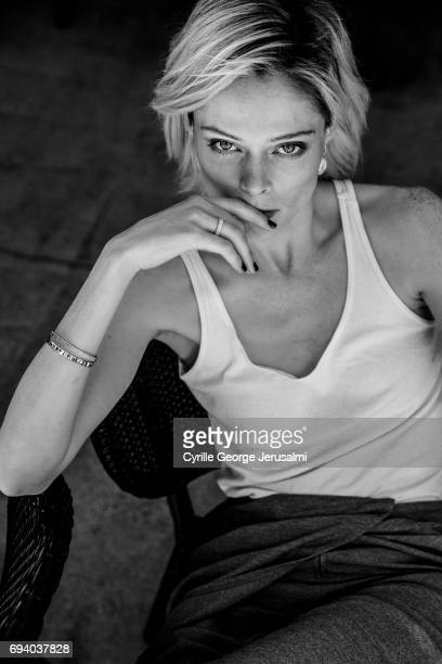 Model Coco Rocha is photographed for Self Assignment on May 21 2017 in Cannes France