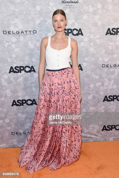 Model Constance Jablonski attends the 21st Annual Bergh Ball hosted by the ASPCA at The Plaza Hotel on April 19 2018 in New York City