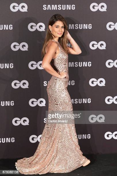 Model Coral Simanovich attends the 'GQ Men of the Year' awards 2017 at the Palace Hotel on November 16 2017 in Madrid Spain