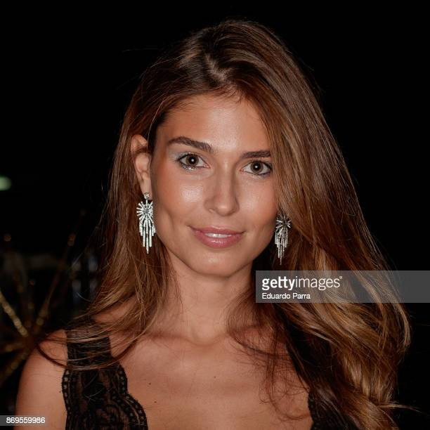 Model Coral Simanovich attends the 'Wanted' By Women'Secret' campaign at La Riviera disco on November 2 2017 in Madrid Spain