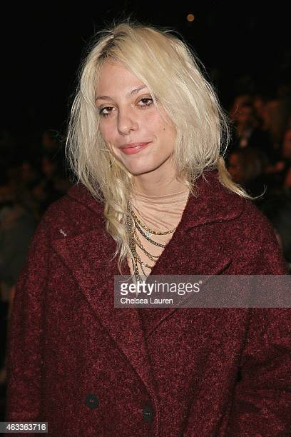 Model Cory Kennedy attends the Mongol fashion show during Mercedes-Benz Fashion Week Fall 2015 at The Theatre at Lincoln Center on February 13, 2015...