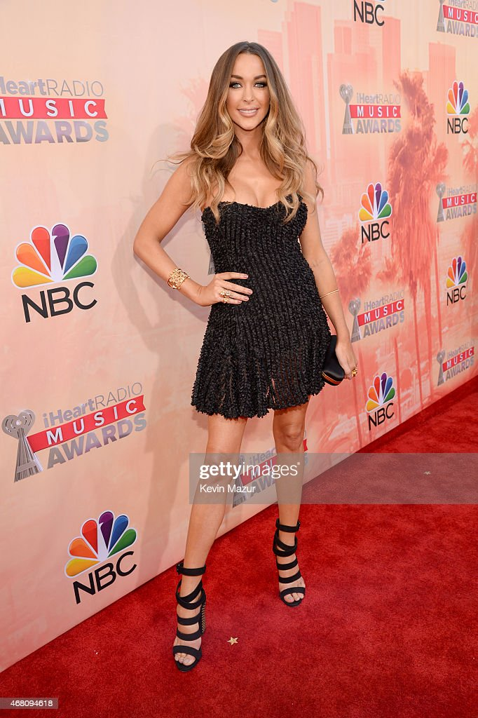 Model Courtney Sixx attends the 2015 iHeartRadio Music Awards which broadcasted live on NBC from The Shrine Auditorium on March 29, 2015 in Los Angeles, California.