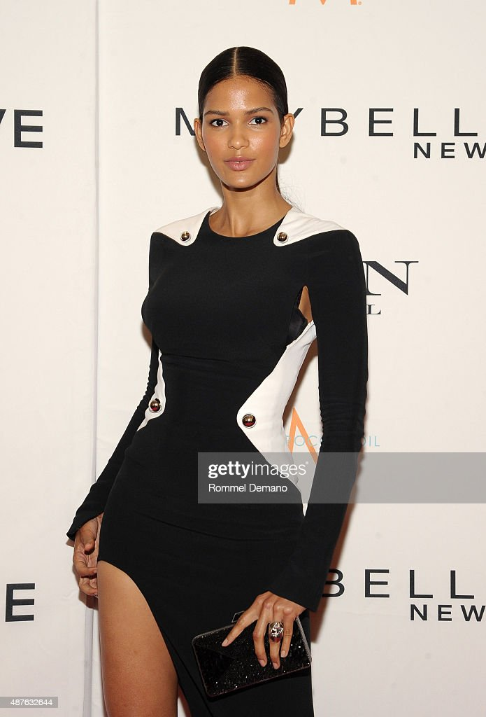 Model Cris Urena attends The Daily Front Row's Third Annual Fashion Media Awards at the Park Hyatt New York on September 10, 2015 in New York City.