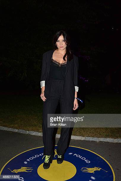 Model Daisey Lowe attends Polo Ralph Lauren For Women during MercedesBenz Fashion Week Spring 2015 at Cherry Hill in Central Park on September 8 2014...