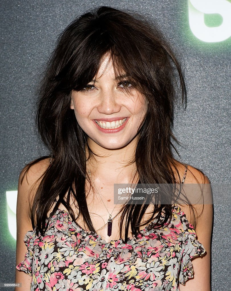 Model Daisy Lowe arrives at the Blur video game launch party at Sound on May 19, 2010 in London, England.