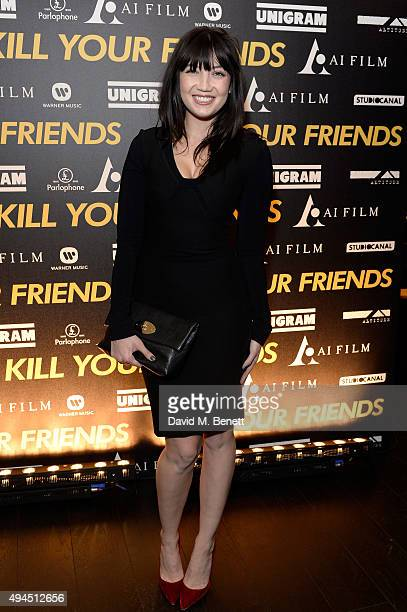 Model Daisy Lowe attends the Al Films and Warner Music Screening of Kill Your Friends on October 27 2015 in London England