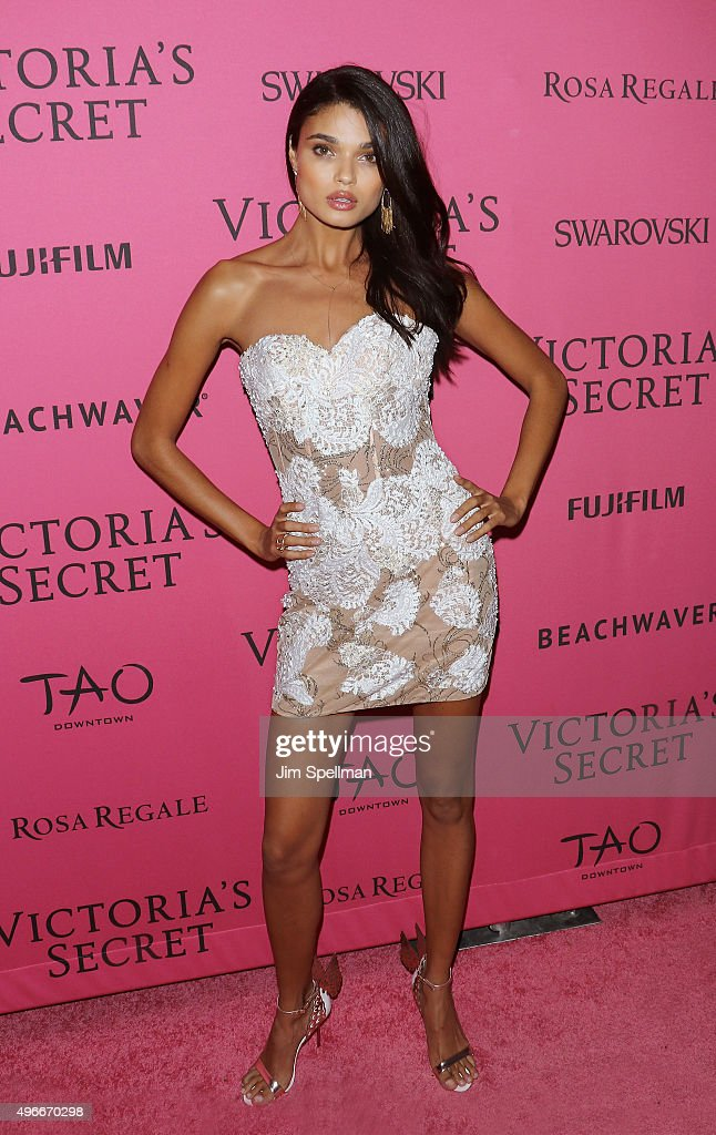 Model Daniela Braga attends the 2015 Victoria's Secret Fashion Show after party at TAO Downtown on November 10, 2015 in New York City.