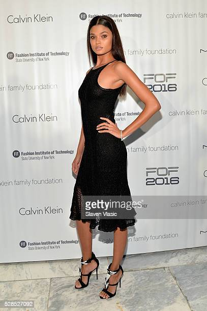 Model Daniela Braga attends the 2016 Future of Fashion Runway Show at The Fashion Institute of Technology on May 5 2016 in New York City