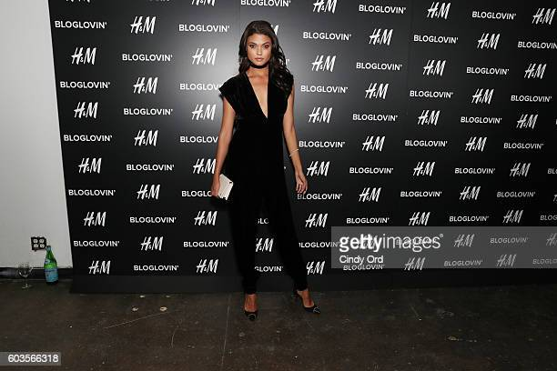 Model Daniela Braga attends the Blog Lovin' Awards at Industria Superstudio on September 12 2016 in New York City