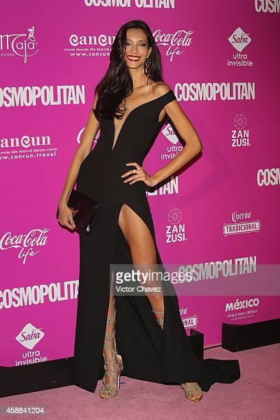 Model Daniela de Jesus Cosio attends the Cosmopolitan magazine anniversary at Auditorio BlackBerry on November 11, 2014 in Mexico City, Mexico.