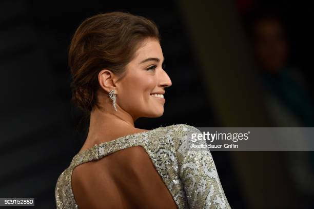 Model Daniela Lopez Osorio attends the 2018 Vanity Fair Oscar Party hosted by Radhika Jones at Wallis Annenberg Center for the Performing Arts on...