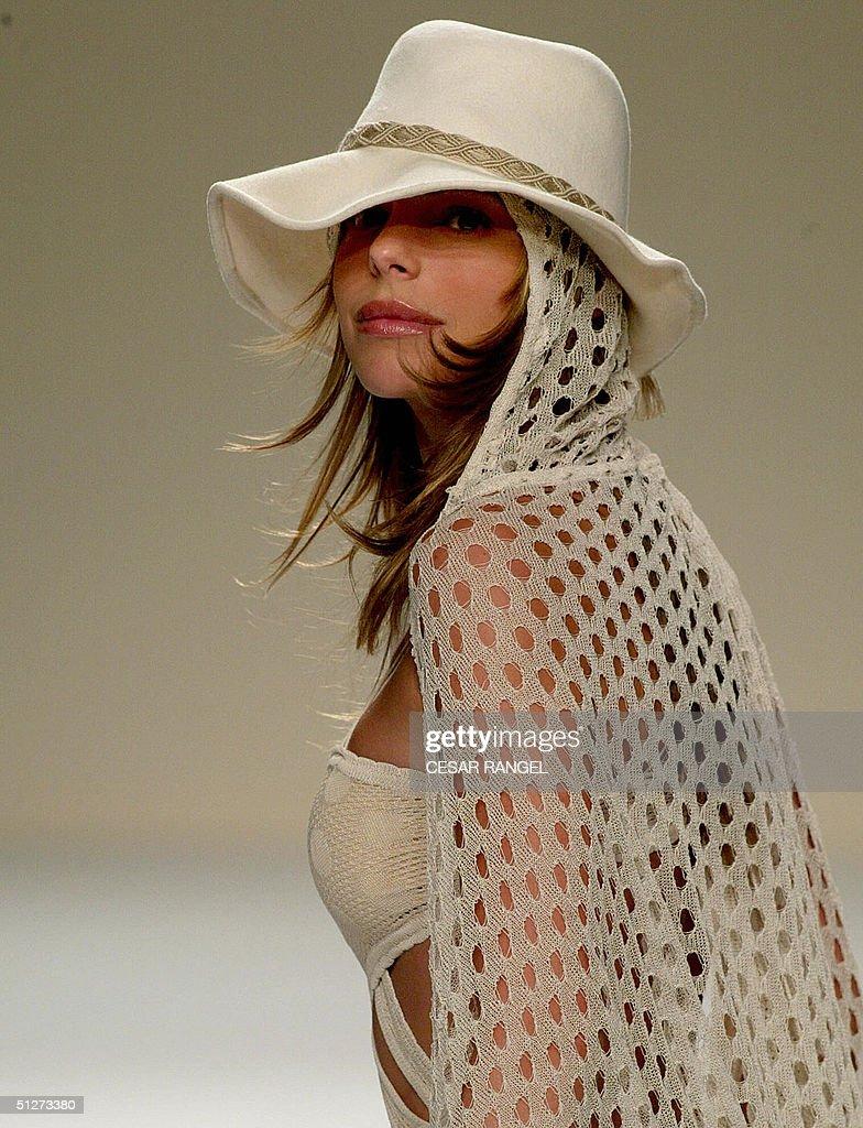 Model Daniella Ciccarelli, girlfriend of : News Photo