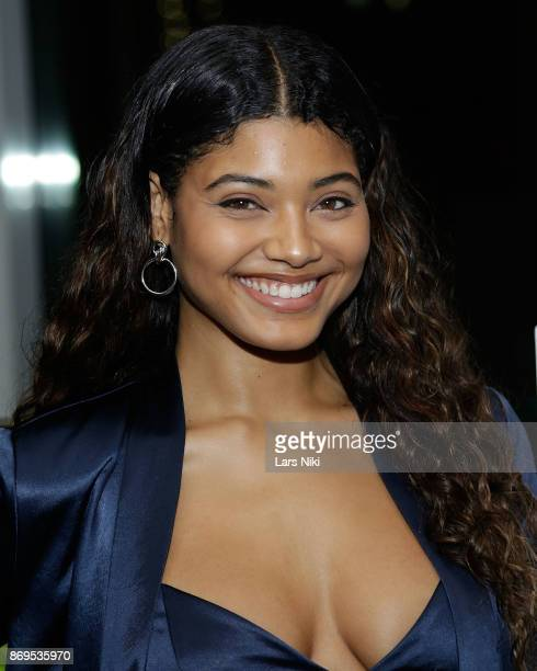 Model Danielle Herrington attends the SI Swimsuit 2018 Model Search celebration and preview of the Sports Illustrated Swim and Active Collection at...