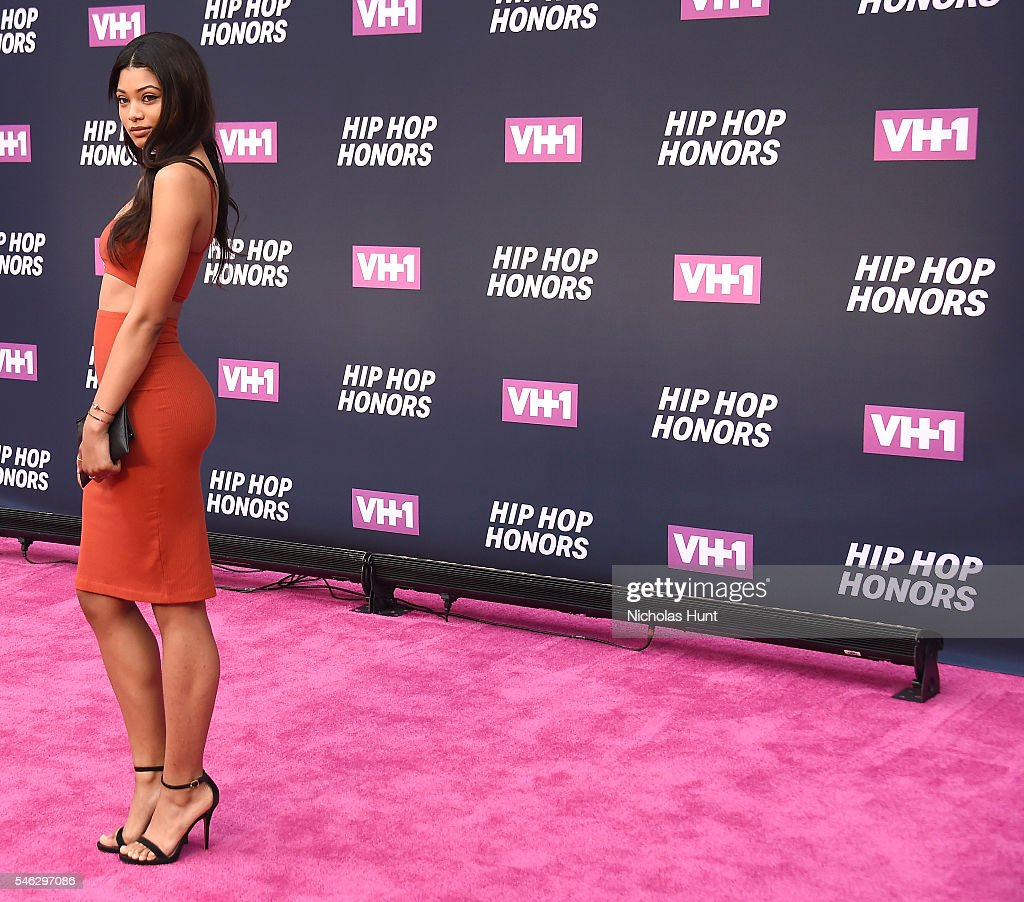 Model Danielle Herrington attends the VH1 Hip Hop Honors: All Hail The Queens at David Geffen Hall on July 11, 2016 in New York City.